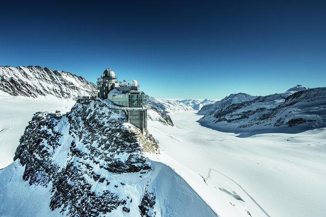 Discover soaring Alpine peaks, blooming meadows and shimmering lakes in Switzerland's Bernese Oberland with this 3-, 4-, 5-, 6-, 7- or 8-day Jungfrau region travel pass. Travel by boat, bus, gondola and railway through the breathtaking Swiss countryside — a haven for nature lovers. Follow walking paths beneath snow-capped peaks such as the Eiger, Mönch and Jungfrau. Voyage through valleys blossoming in color and enjoy panoramic views over the rolling hills. Explore the areas around Interlaken, Grindelwald, Lauterbrunnen, Kleine Scheidegg and Harder Kulm, and discover a slower pace of life in rural Switzerland.