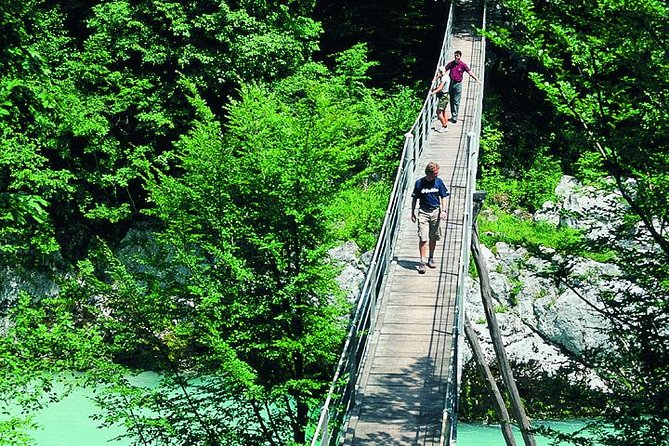 Fancy a day admiring the natural outdoor beauties of Triglav National Park in Slovenia? Take the stress out of driving on rural roads by having a round trip transport in air-conditioned minivan provided. You don't need to worry about crowds as this is a small group limited to a maximum of 8 travellers. See sights such as Waterfall Peričnik, Zelenci nature reserve, Lake Predil, Soča Valley, Vršič pass and Jasna lake.