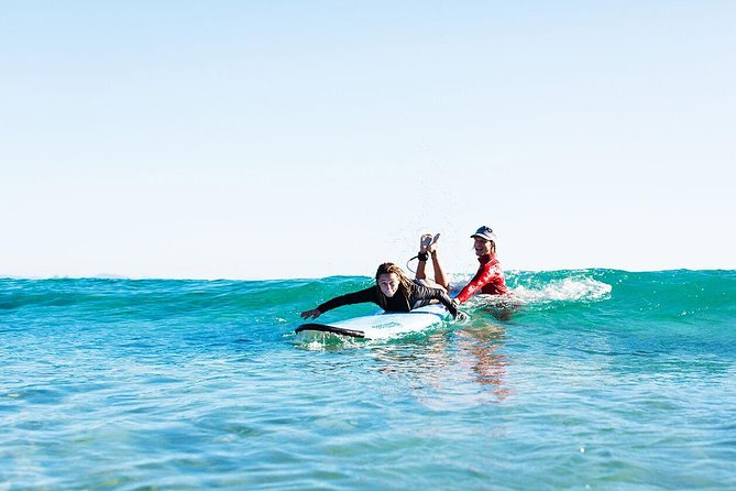 The Ultimate Surf & Chill Package.<br><br>The Byron Bay area is known not only for its great surf waves, which are experienced and learner friendly alike but also for its amazingly laidback lifestyle and culture. So why not stay a few days, have a few surf lessons, do a spot of yoga and see what this great surf/beach town has to offer!<br>