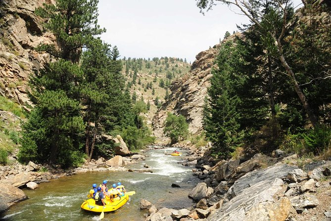 Outer Limits Three-Quarter Day Whitewater Rafting from Idaho Springs, ,