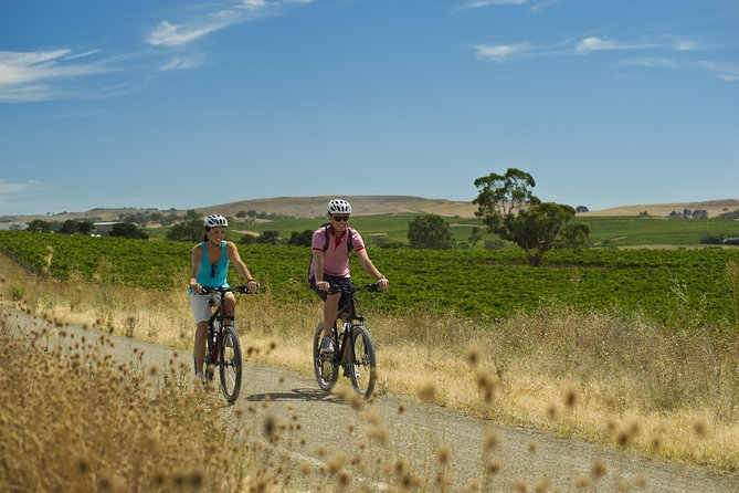 A wonderful 2 night/3 days tour cycling the Riesling Rail Trail passing rolling vineyards, some of Australia's oldest cellar doors and world class wines, and experiencing amazing gourmet delights, with friendly locals and a sleepy, country feel. The perfect escape.