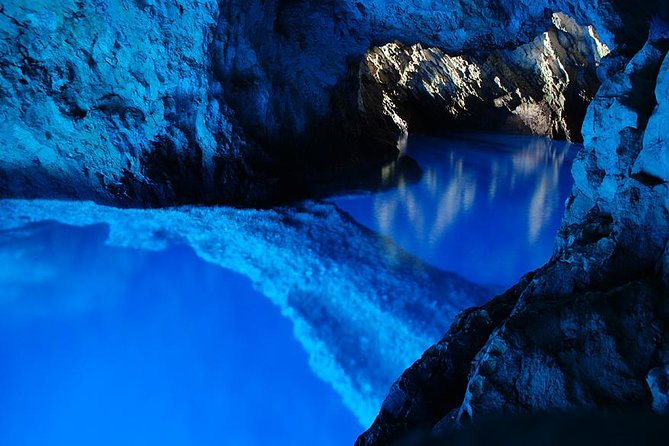 This full-day, private tour for your party of up to 11 persons is a great way to see a natural phenomenon, the Blue Cave. Swim and snorkel inside Monk Seal Cave(option) and soak up the sun on Stiniva Bay beach. Taste best Croatian dishes in Hvar restaurants, and after that, enjoy the panoramic view from Fortica Fortress.