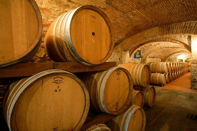 Winery Tour in a Castle in Tuscany, Chianti, ITALIA