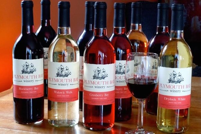 "Enjoy award winning wines, wine jellies, and wine sauces in a tasting on historic Plymouth Bay. ""Experience Delicious"" a stone's throw away from Plymouth Rock."