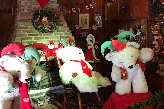 Entrada a Aldeia do Papai Noel (Aldea de Papá Noel), Gramado, BRASIL