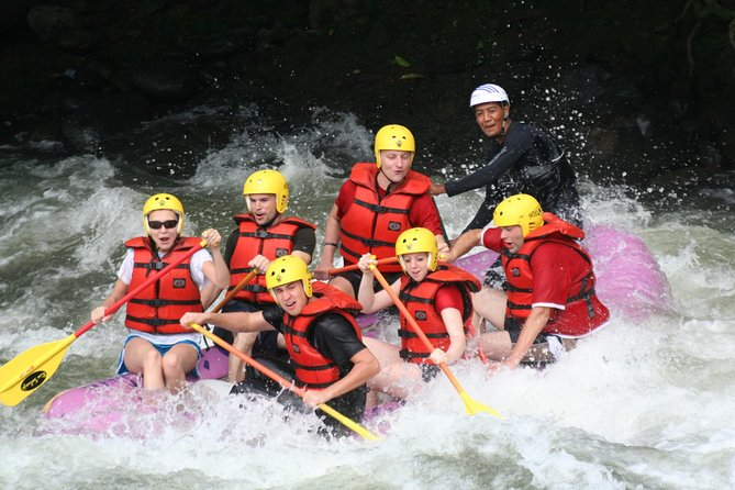 Challenge with White-Water Rafting and Visit Peaceful Countryside in Da Lat, My Son, Vietnam