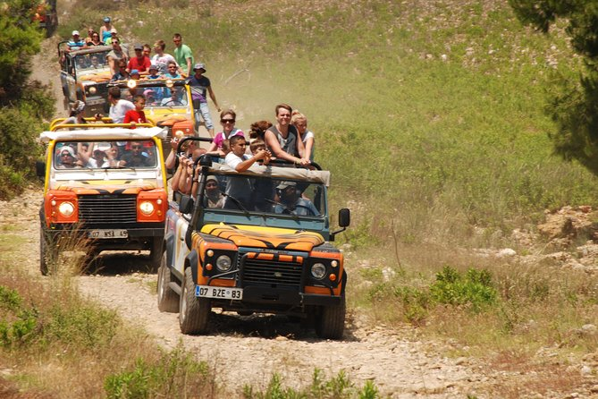 Roar out into the countryside for an adrenaline-filled day on this 8-hour 4x4 safari and white-water rafting rip. Get off the beaten track into the Taurus Mountains as you ride through pine forests and ford rushing rivers, then raft the Koprulu River through the stunning Koprulu Canyon. Tour includes lunch.