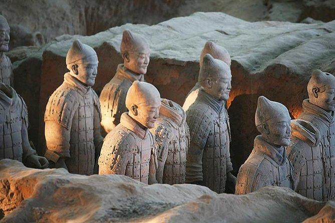 Mini Group Xian Day Tour to Terracotta Army, City Wall, Pagoda & Muslim Bazaar, Sian, CHINA
