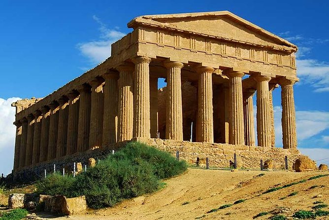 Immerse yourself in ancient Sicilian history with a visit to Agrigento's Valley of the Kings. The day trip from Palermo includes a pamphlet at the UNESCO-listed archaeological site. Learn the tales of the Carthaginians and Romans as they battled for power of the city, and see prehistoric artifacts inside Agrigento Archaeological Museum. Entrance fees are at your own expense.<br>