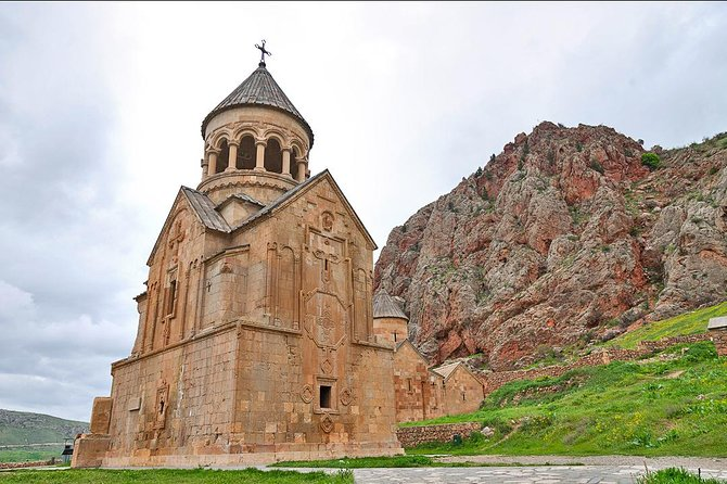 "Join this group tour to explore most amazing attractions of Armenia! Visit Khor Virap monastery, a great place for embracing the most picturesque views of Biblical Ararat mountain. Next see the monastery complex, Noravank, that is unique in its construction as the Church of Holy Mother of God is the only two-storied monastery in Armenia. After that visit Areni, one of the oldest settlements in Armenia and today is famous for its wines. Have a lunch and wine tasting. Finally see an ancient cave called ""Birds-Cave"" or Areni 1 ."