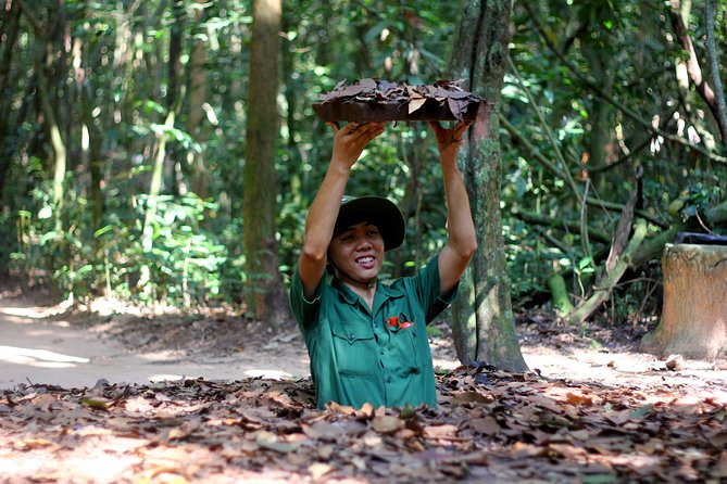 Bike and Boat Tour to the Cu Chi Tunnels from Ho Chi Minh City, Ho Chi Minh, VIETNAM