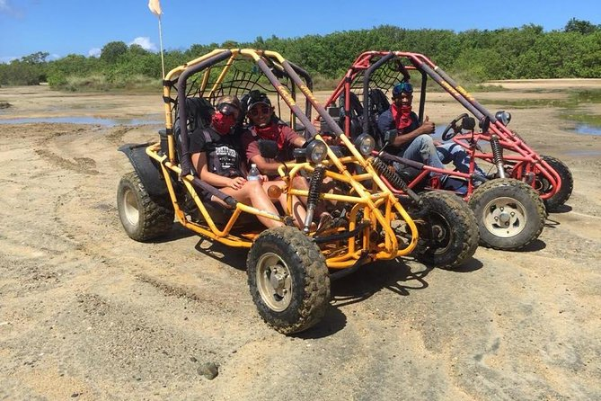 Shore Excursion: Roatan 4x4 Off-Road Dune Buggy with Monkey/Sloth Park and Beach, Roatan, HONDURAS