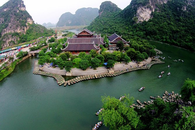 Día completo en la Pagoda Bai Dinh y Trang An desde Hanoi, Hanoi, VIETNAM