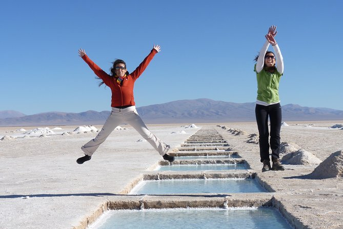 Spend 2 Days in stunning landscapes in Jujuy Province. Visit the Salinas Grandes salt flats, the Hill of 7 Colors and the Tilcara Pre-Inca Ruins and the most beautiful landscapes of the Quebrada de Humahuaca.