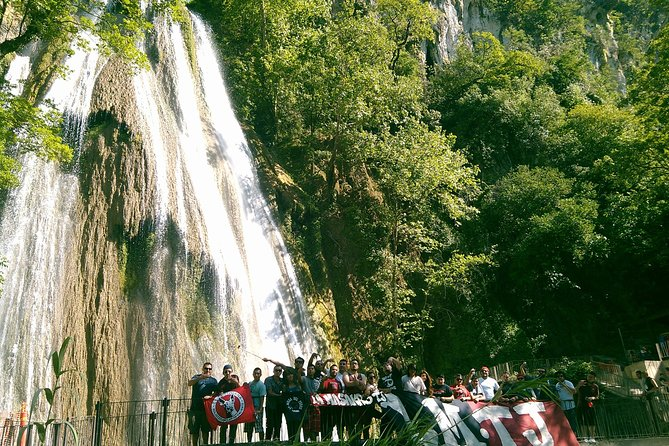 "You will explore the major tourist attractions such as Magic Town's most prestigious waterfall northeast of the coun-try ""Cola de Caballo"""