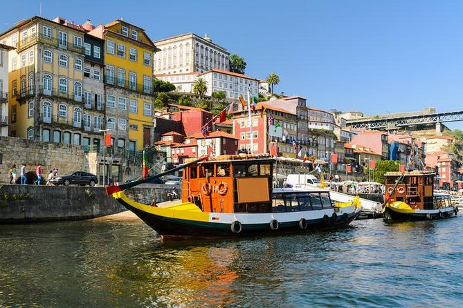 Discover the magic and charm of Porto during this full-day tour, which includes a river cruise, wine tasting and lunch . Visit some of the city's most famous landmarks, including the Porto Se Cathedral, Avenida dos Aliados, and the Torre & Igreja dos Clerigos. Head to a Port wine cellar for a tasting of Portugal's most famous wine, then hop on a boat and float down the Douro river, admiring the six local bridges over the water. The pickup and drop-off from your hotel is included on the tour.