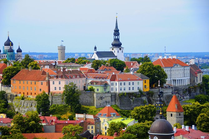 "Join this guided day trip to historical Tallinn. Your driver will pick you up from your hotel and drive you to the ferry terminal where you will board the ferry and make your way to Tallinn, the capital of Estonia. The ferry will take 2 hours and you arrive to Tallinn where your professional guide will meet you with a sign ""Day cruise to Tallinn"" and show you the city. You will see the main city square, the city hall, towers and houses of Guilds from middle ages, Toompea Castle, Aleksandr Nevsky Cathedral and Kadriorg Park. After the city tour, you will take the ferry back to Helsinki and your driver will drop you back at your hotel at about 10pm.<br><br>"