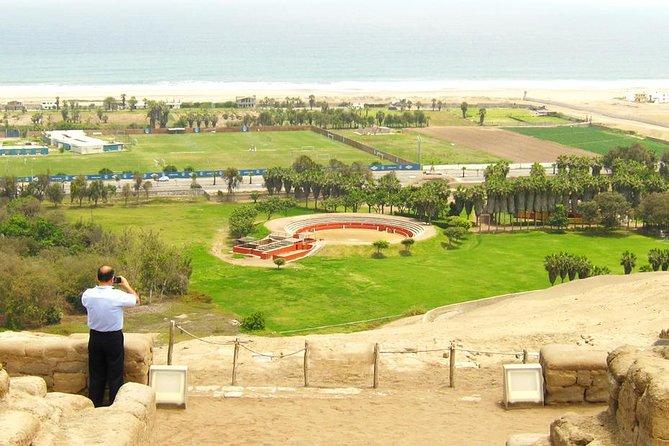 Excursão particular: sítio arqueológico de Pachacamac, incluindo o bairro de Barranco, Lima, PERU