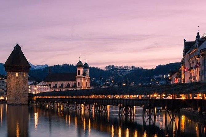 Recorrido turístico de medio día en Lucerna desde Basilea con recogida en el hotel y traslado de vuelta, Basilea, SUIZA