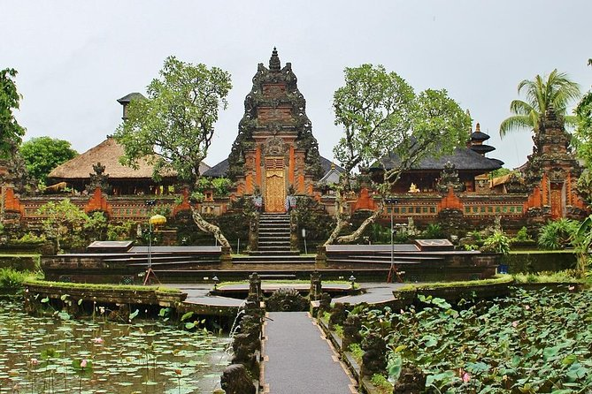 See the scenic rice terraces, local temples, and dramatic landscape of Bali on a 9-hour guided tour. Go to Kintamani to experience an active volcano and lake. Explore Balinese culture and the majestic heritage and nature at tropical plantations, and more.