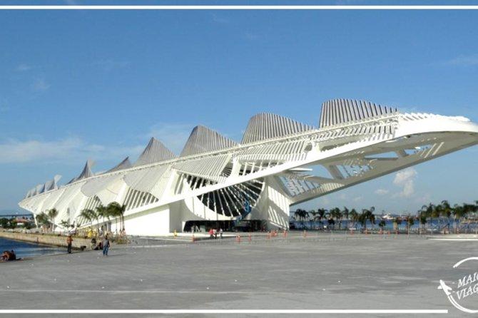 Entrada para el Museo del Mañana, Río de Janeiro, BRASIL