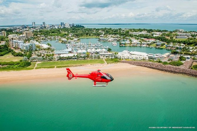 Want an easy way to see everything there is about Darwin, join a scenic flight along the Darwin city coastline to the Northern Beaches viewing the cliffs. There will also be a chance to experience the town of Mandorah from the air which is located adjacent to Darwin.