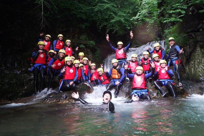 【OUTLINE】<br><br>A popular tour where can experience rafting and canyoning in a day. From April to November. Children aged 6 and over can join the experience during the summer. This tour provides a chance to enjoy the great nature in Minakami. No doubt you will be obsessed with the canyoning tour sliding down a 20 m waterfall.