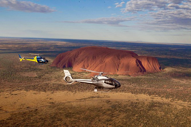 If seeing just Uluru from a helicopter wasn't enough!! Make sure you see it all while you are here on this once in a lifetime trip by combining the beauty of Uluru and Kata Tjuta in one unforgettable tour.