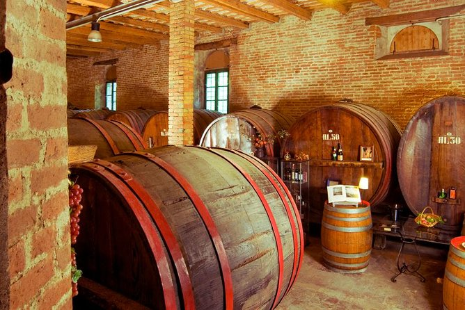 Invite your senses to participate in an essential history lesson of Le Marche's wine culture with a guided tour within one of the region's oldest wineries, complete with wine tasting of native fine wines served alongside a selective platter of local meats.