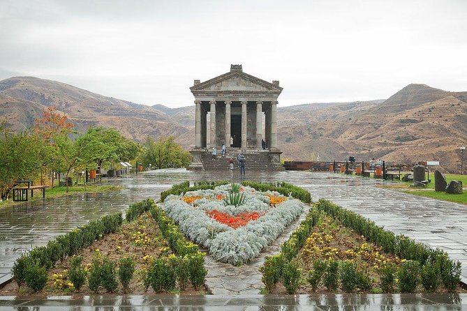 "Join the group to explore most amazing attractions of Armenia! First up visit Garni, the only pagan temple which exists in Armenia. See the ""Lavash"" (Armenian bread) baking is one of the most beautiful and common Armenian national traditions before moving onto Geghard monastery, a complex which is carved in a cave."