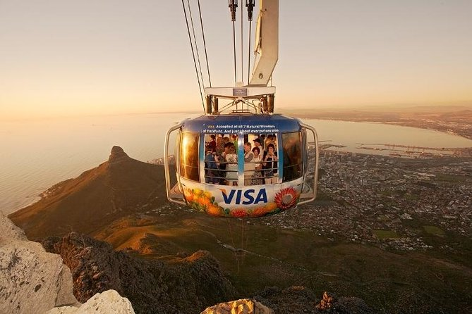 For travellers with limited time in Cape Town we have combined all the highlights into one day on a Scheduled Tour to Table Mountain, Boulder's Penguins and the Cape of Good Hope. Travelling to Cape Town without visiting the Cape of Good Hope is like a travelling to Paris without visiting the Eiffel Tower.<br><br>On this tour: <br>See the city centre on a brief drive-by city tour; <br>Stop in the Bo-Kaap for a photo with the colourful houses; <br>Visit Table Mountain via the Cable Car;<br>Take a boat to Seal Island from Hout Bay;<br>Take a drive along Chapman's Peak;<br>Visit the African penguins colony at Boulder's Beach;<br>Take your photo at the Cape of Good Hope and visit Cape Point lighthouse;<br>See the colourful beach huts at St. James Beach.