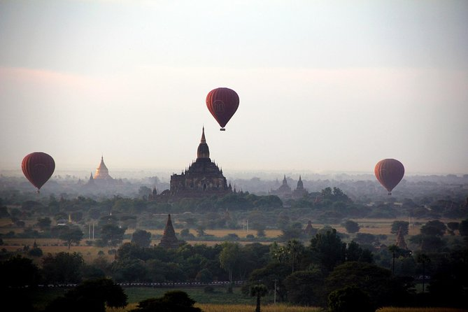 Set yourself free as you go for a full daysightseeing in Bagan and visit famous and most significant tourists attractions including,Gubyaukgyi Temple,Nyaung-U Township,Shwezigon Pagoda & more.