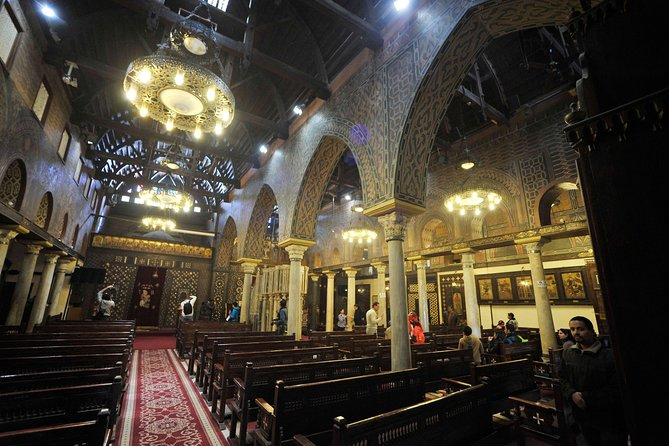 private day tour to cave church St Simon and hanging church in Cairo, Guiza, EGIPTO