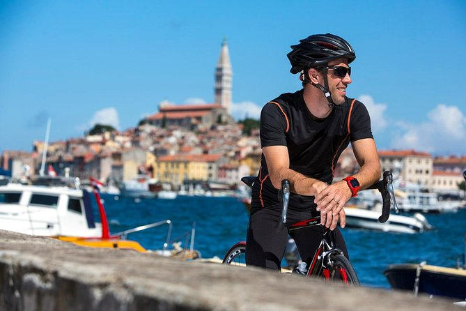 The tour covers a pleasant bike trip around Rovinj, one of the most beautiful destination in the Adriatic.<br><br>A unique tour, mix of modern and ancient sights, with amazing panoramic views of the Adriatic sea; beaches and bays, small islands…