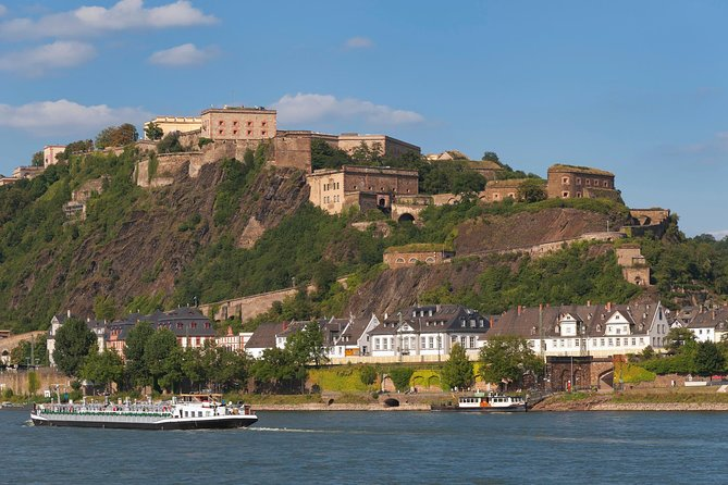 An easy way to start your romantic day on the Rhine: Present your KD ticket onboard any KD ship and enjoy all scheduled day cruises on the Rhine river for one whole day. The extensive and reliable timetable enables you to disembark as often as you like at the many interesting stops, and spend as much or as little time as you would like. <br>Daily departure from Koblenz at 9.00am and 2.00pm. <br>