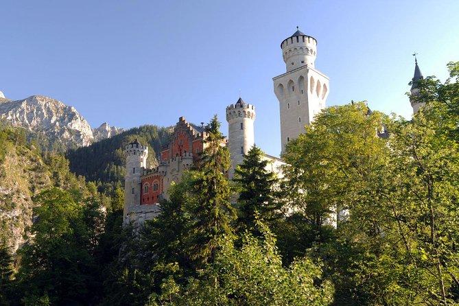 Excursão de bicicleta no Castelo de Neuschwanstein saindo de Munique de trem, incluindo passeio de bicicleta em fuessen, Fuessen, Alemanha