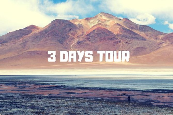 3-Day Tour to Salt Flats and Lagoons, Uyuni, BOLIVIA