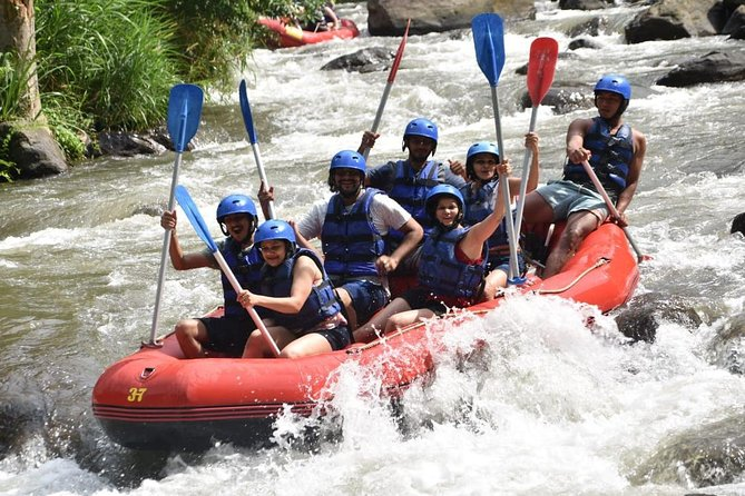 Bali Rafting and ATV Ride Tour is an Bali Double Activities Tour Packages we created by allowed you to enjoy two activities in one day, first we will try the White Water Rafting Adventure at Ayung River with rapids challenge class 2 and 3 and for sure this is safe for beginner which never try the rafting before and then continue the tour to enjoy explore Bali Islands by using ATV bike with professional ATV guide. First you will have safety briefing before start the rafting and then the guide will lead your adventure for 2 hours in Ayung river, after finish the rafting you will enjoy the delicious lunch buffet with Indonesian food and then after finish the lunch you will escorted to the ATV provider where you will try to beat the beaten track for2 hours and then after finish ATV Ride tour, we will bring you back to your hotel with full of amazing memory during this double activities of Bali Rafting and ATV Ride Tour packages.