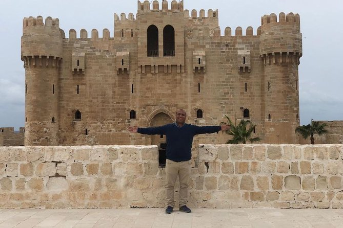 Enjoy your day tour from Cairo to the Mediterranean coast to explore Alexandria on a private day tour. get experience about Alexandria from your Egyptologist guide, and check out the city's sightseeing including Pompey's Pillar, the citadel of Qaitbay, the Roman catacomb and the modern Library of Alexandria.