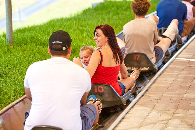Cool Runnings is the only toboggan track in Africa,1.25 km long, and with sunny skies and warm weather, these bobsled definitely aren't running on the traditional snow and ice. Instead, Cool Runnings bobsled run on wheels on a stainless steel track, each seating up to two people. Your ride starts with pulling you up to the top of the hill. From there, your sled is released and you'll go flying down the track with 15 corners, S-bends and a tunnel. You can control your own speed, but adrenaline junkies can easily reach up to a whopping 40km/h. If you slow down before you reach the braking belt, you have nothing to worry about. <br><br>Cool Runnings Toboggan Family Park is just outside Cape Town, situated on the slopes of Tygervalley. The Park also boasts a large, covered terrace, yummy food and drink facilities and a bar, making it the perfect outdoor spot for corporate functions, team buildings, family outings and kid's parties.