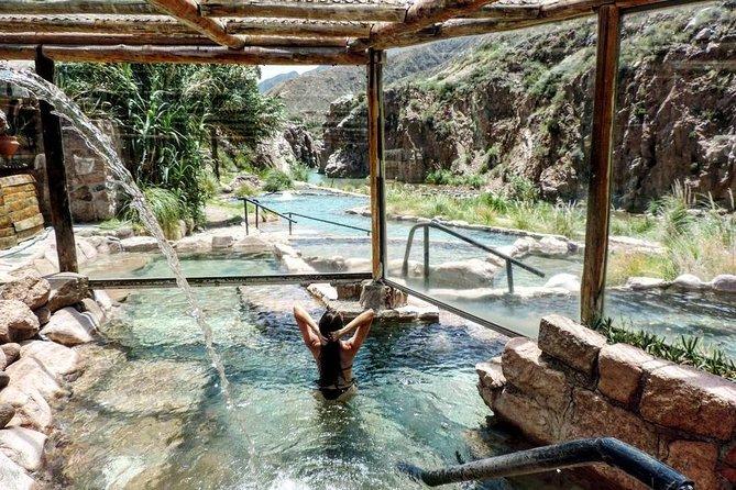 Termas Cacheuta - Excursão de dia inteiro no spa termal com traslado de micro-ônibus, Mendoza, ARGENTINA