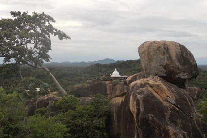 Explore an ancient rock temple in Yala National Park with ease on this tour. As you travel in a jeep through the park, try to spot leopards, elephants, and other wildlife. Ascend the rock and reach Sithulpawwa Rock Temple, including ruins that are more than 2000 years old. Enjoy a panoramic view over Yala National Park.<br><br> Tour Starts from your hotel - 03.00 PM