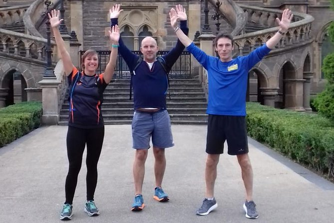 Discover the most important sights of Dundee in 5 exciting miles. Our popular running tour is the most fun, sociable tour you will experience. A great way to see the places the buses can't get to. Our tours are set at a social pace, with lots of stops along the way to take photos and show you the sights. Starting from Run4it, right in the city centre, the tour will take in Slessor Gardens and the new V&A museum, as well as the beautiful Waterfront development, Magdalen Green, Perth Road and Albert Square.