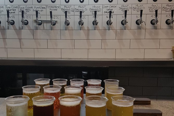 Craft Beer Tour Taste your way through Taurangas best breweries, Tauranga, NUEVA ZELANDIA