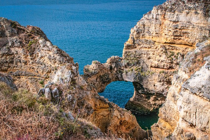 "See the world famous caves and grottos of Lagos on our boat ""Argonauta"" with an experienced guide and skipper in small groups for the best experience."