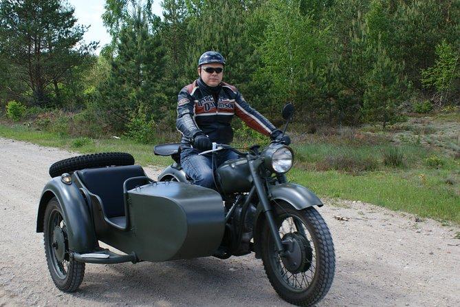 New&Old Praga Vintage sidecar motocykle trips & visit Warsaw, unique attraction!, Warsaw, Poland
