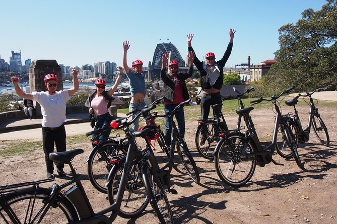 Sydney's Harbour is undoubtedly the most beautiful in the world and this tour hugs the harbour to the east and west around stunning coves and over the Harbour Bridge (3 hours - 23kms). Includes Electric Bike, Helmet, Water and Tour Guide.