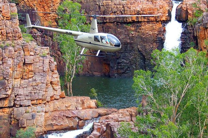 A true departure from the ordinary, your journey will begin with a compelling flight south to the breath-taking Katherine Gorge. Pass over the rugged Aussie Outback, as well as the Adelaide River and Pine Creek. After taking in the views of the landscape, the scenic flight extends over Katherine Gorge itself, with an all encompassing view of the grandeur and brilliance of the gorges.<br><br>The highlights continue with a helicopter flight taking you to hard-to-reach gorges that are as stunning as they are remote. This life-changing experience culminates with an awe-inspiring 2-hour boat cruise through the gorge, where you will be able to take in every remarkable aspect of the Katherine Gorge. Take a moment to relax before once again boarding a plane and returning to Darwin.