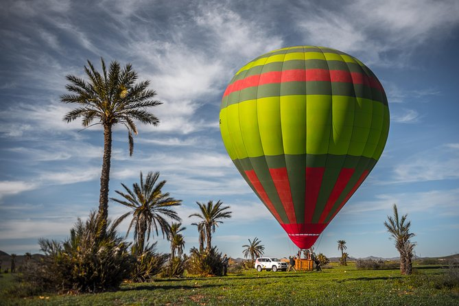 Exceptional Private ROYAL Hot Air Balloon Flight with Seated Air Breakfast, Marrakech, Ciudad de Marruecos, Morocco