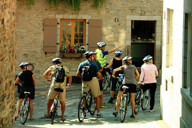 Quebec Lower Town Historical Bike Tour, Quebec, CANADA